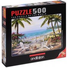 Puzzle Anatolian 500 - Seashore, Sung Kim