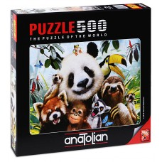 Puzzle Anatolian 500 - Animal Relief, Howard Robinson