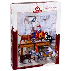 Puzzle Art 1500 - My colorful world, Marek Brzozowski