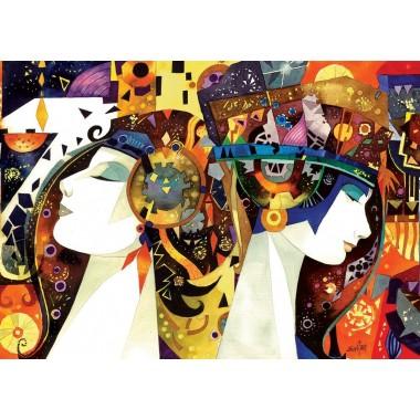 Puzzle Art  3000 - Perseverance and arrogance, Halluc Evita