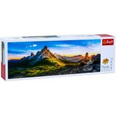 Trefl 1000  - Gioau Pass, Dolomites, - Panoramic Puzzle