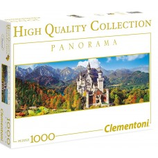 Clementoni  1000 - Neuschwanstein Castle, Germany, - Panoramic puzzle
