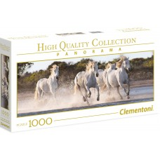 Clementoni  1000  - Galoping Horses, Panoramic Puzzle