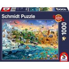 Schmidt 1000 - Animal kingdom