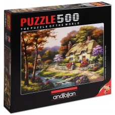 Puzzle Anatolian 500 - Blooming Spring, Sung Kim