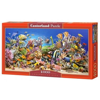 Castorland 4000 - Life in the sea