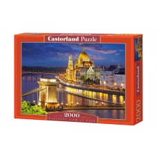 Castorland 2000 - Budapest at night