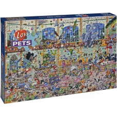 Gibsons 1000 - I Love Pets, Mike Jupp