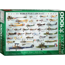 Eurographics 1000 - Military aircraft from World War I