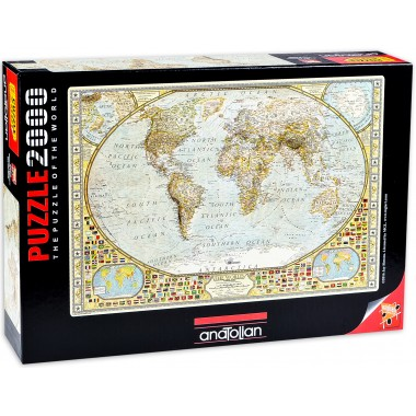 Anatolian 2000 – Map of the world, Jay Simons