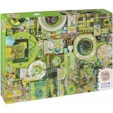 Cobble Hill 1000 - Green, Shelley Davis