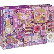 Cobble Hill 1000 - Purple, Shelley Davis