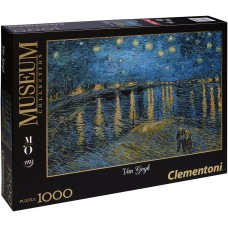 Clementoni  1000  - Star Night over Rhone, Vincent van Gogh