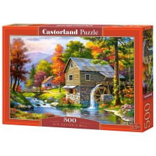 Castorland 500 - The Old Mill, Sung Kim