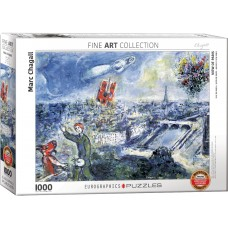 Eurographics  1000  - Paris bouquet, Mark Chagall