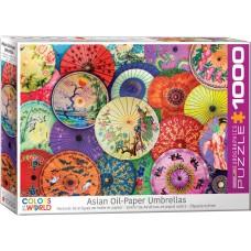 Eurographics  1000 части -Asian umbrellas