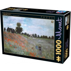 D-Toys 1000  -  Poppy, Claude Monet