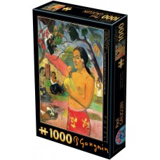 D-Toys  1000  - Where are you going? (Woman with Fruit), Paul Gauguin