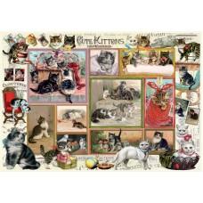 Два пъзела Anatolian от по 500 части - Комикс с котета и кученца, Барбара Бер
