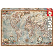 Educa 1500 - Political map of the world