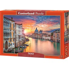 Castorland 500 - Venice at sunset