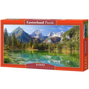 Панорамен пъзел Castorland от 4000 части - Величието на планините