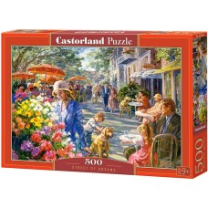 Castorland 500 - The street of dreams