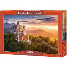 Castorland 500 - View of Neuschwanstein Castle, Germany