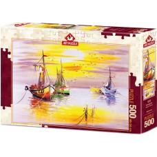Art Puzzle 500 - Evening sun