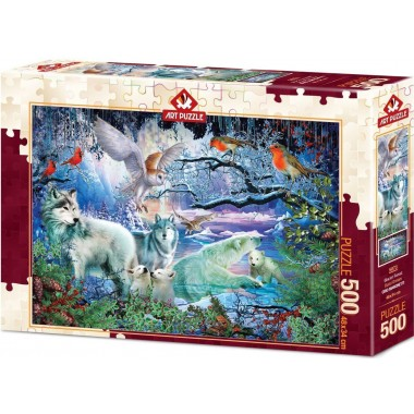Art Puzzle 500 - Glacial forest