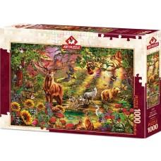 Art Puzzle 1000 - Magic forest