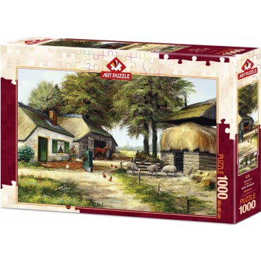 Art Puzzle 1000 - Farm, Rent Whithar