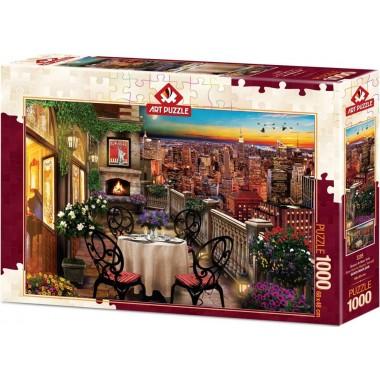 Art Puzzle 1000 - Dinner in New York, David M.