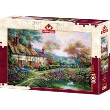 Art Puzzle 1500 - Spring Garden, Carl Valente