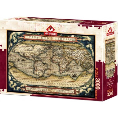 Art Puzzle 3000 - The first modern atlas, 1570