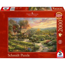Schmidt 2000 - The mansion with the vineyards, Thomas Kincaid