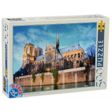 D-Toys 500 - Notre Dame Cathedral, Paris, France