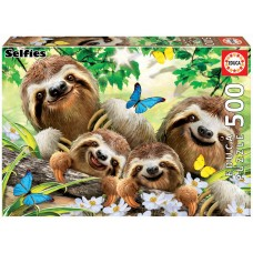Educa 500 - A family of sloths