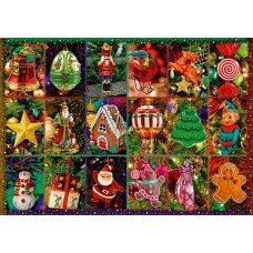 Bluebird 1000 - Festive ornaments, Alison Lee