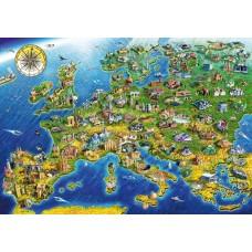 Bluebird 1000 - European landmarks, Adrian Chesterman