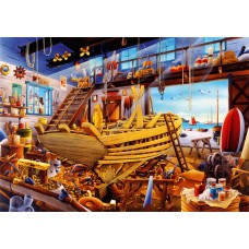Bluebird 1000 - Wooden boat