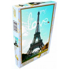 Gold Puzzle 1000 - Love in Paris