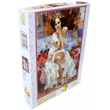Gold Puzzle 1500 - Roses