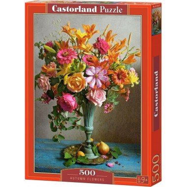 Castorland 500 - Autumn flowers