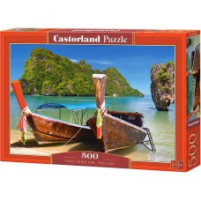 Castorland 500 - Khao Phing Kan, Hotel Thailand