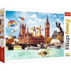 Trefl 1000 - Dogs in London