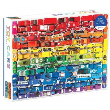 Galison 1000 - Colorful carts